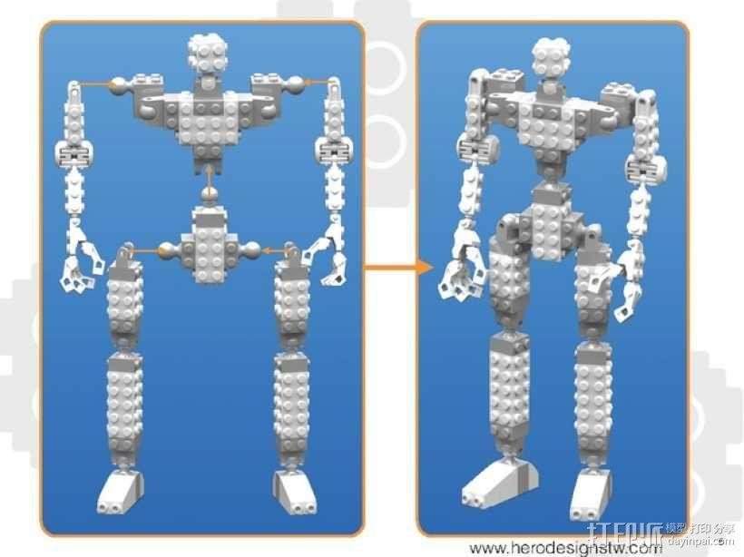 乐高积木玩具 3D模型  图24