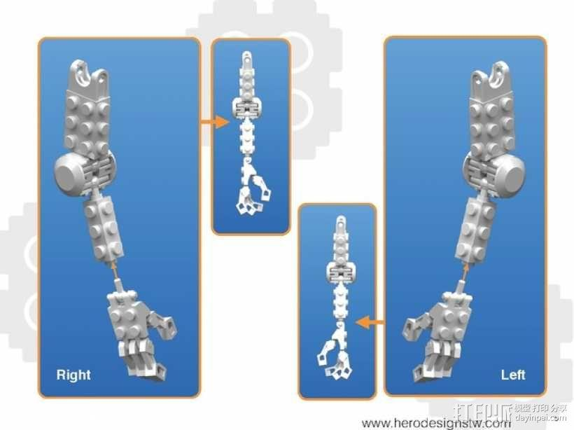 乐高积木玩具 3D模型  图25