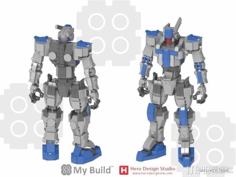 乐高积木玩具 3D模型  图27