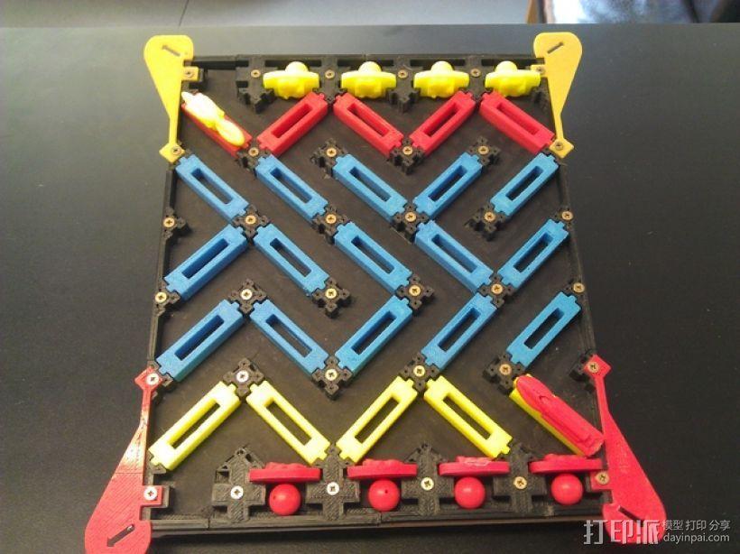 3D打印的迷你棋盘游戏 3D模型  图2