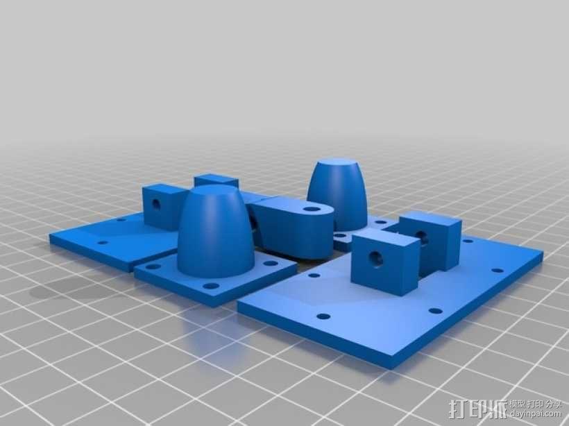3D打印的迷你棋盘游戏 3D模型  图7