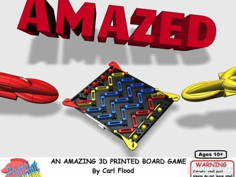3D打印的迷你棋盘游戏 3D模型  图13