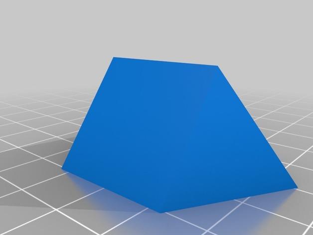 迷你金字塔模型 3D模型  图1