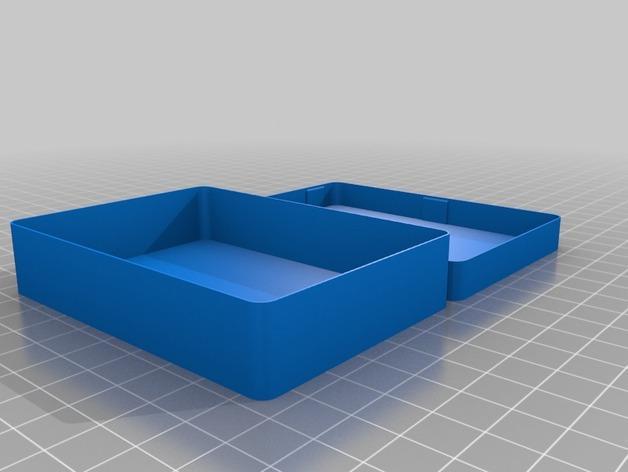 卡片夹 3D模型  图2