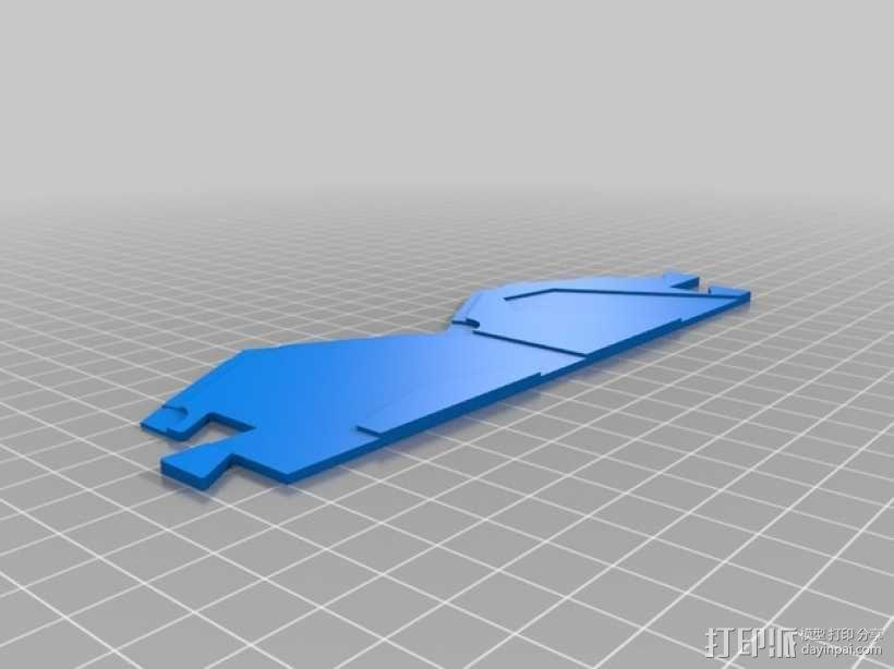 3D打印的迷你瓷砖 3D模型  图1