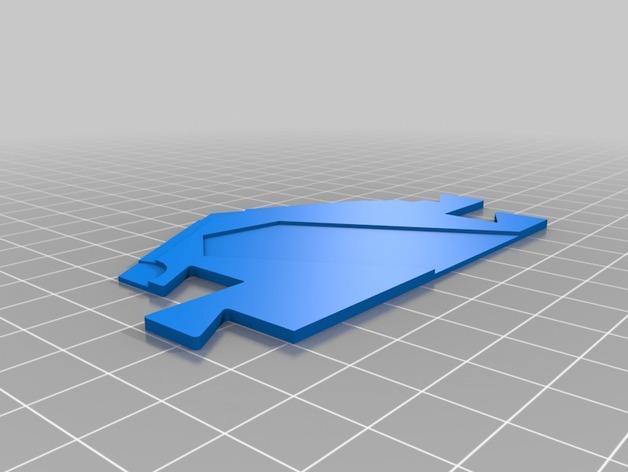 3D打印的迷你瓷砖 3D模型  图3