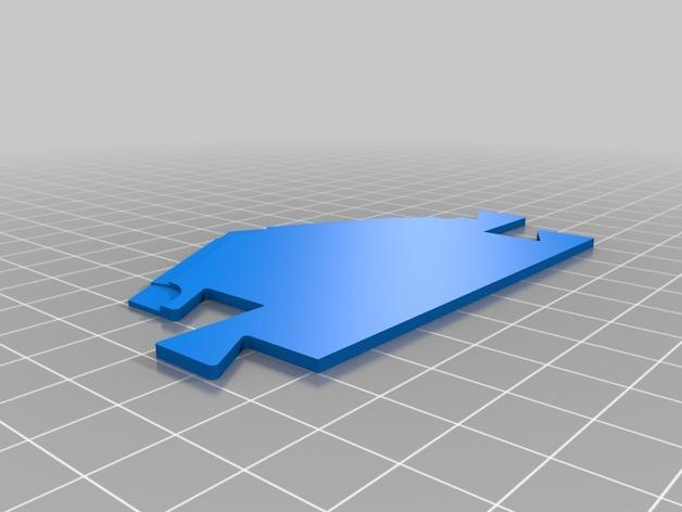 3D打印的迷你瓷砖 3D模型  图4