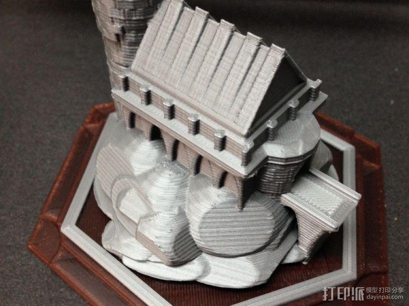 游戏《卡坦岛》中巫师城堡模型 3D模型  图1