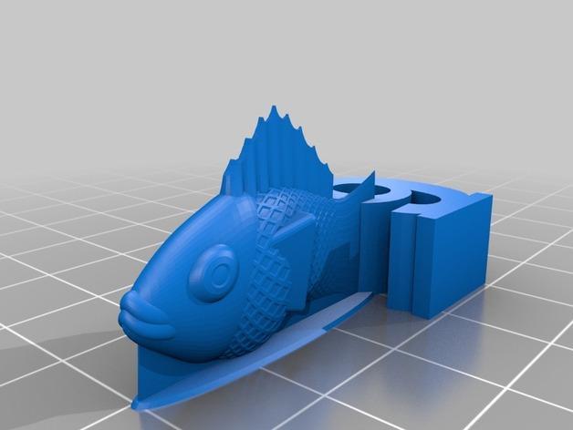 游戏《卡坦岛》中Chevron鱼模型 3D模型  图6