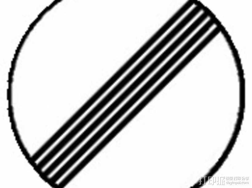 迷你信号指示牌 3D模型  图31