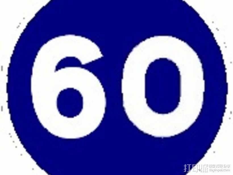 迷你信号指示牌 3D模型  图33