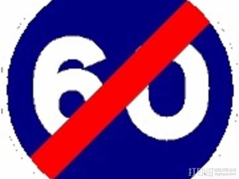 迷你信号指示牌 3D模型  图36