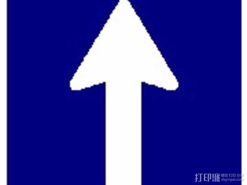 迷你信号指示牌 3D模型  图44