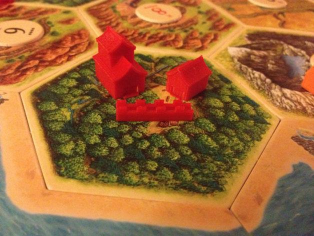 游戏《卡坦岛》中的帝国模型 3D模型  图6