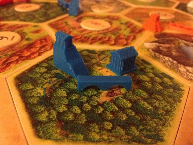 游戏《卡坦岛》中的帝国模型 3D模型  图7