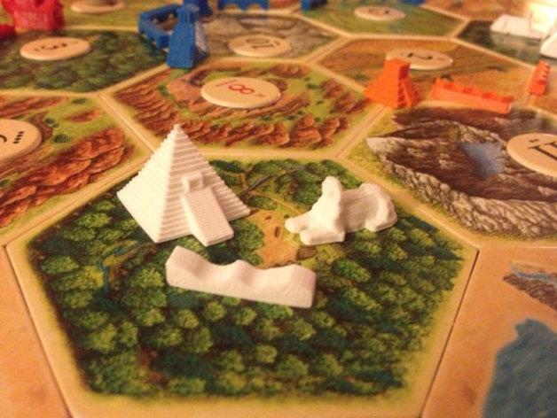 游戏《卡坦岛》中的帝国模型 3D模型  图8