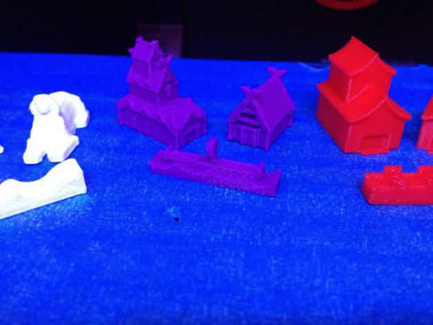 游戏《卡坦岛》中的帝国模型 3D模型  图9