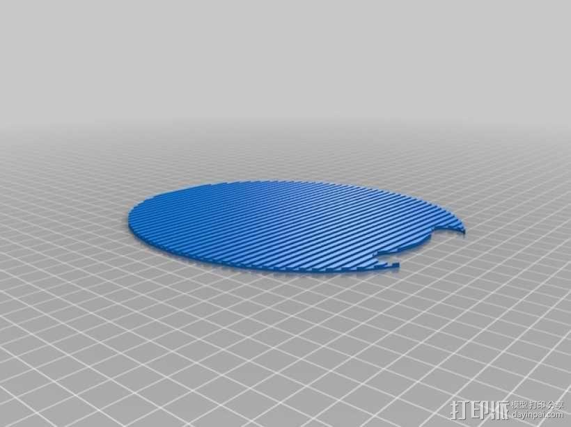 乒乓球拍模型 3D模型  图6