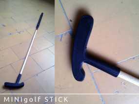 迷你高尔夫球推杆 3D模型