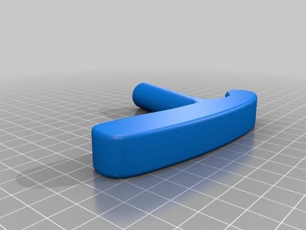迷你高尔夫球推杆 3D模型  图3