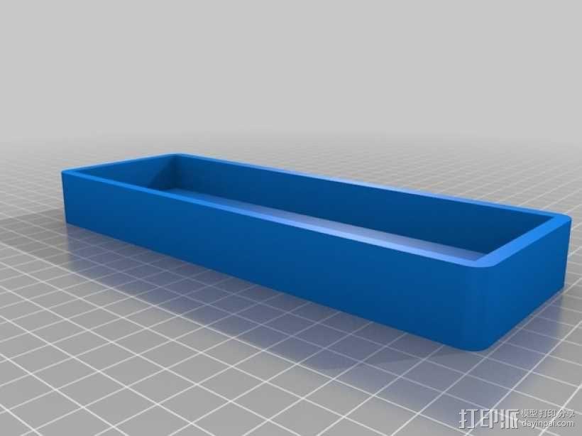 迷你铁路火车模型 3D模型  图3