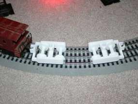 迷你铁路火车模型 3D模型
