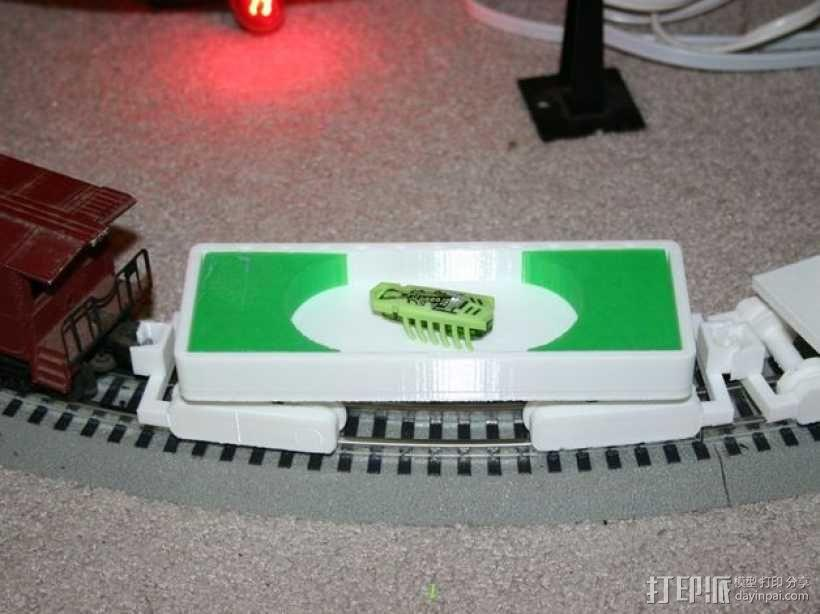 迷你铁路火车模型 3D模型  图8