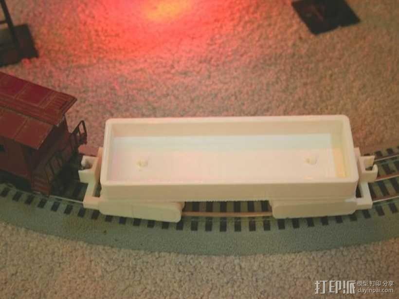 迷你铁路火车模型 3D模型  图10