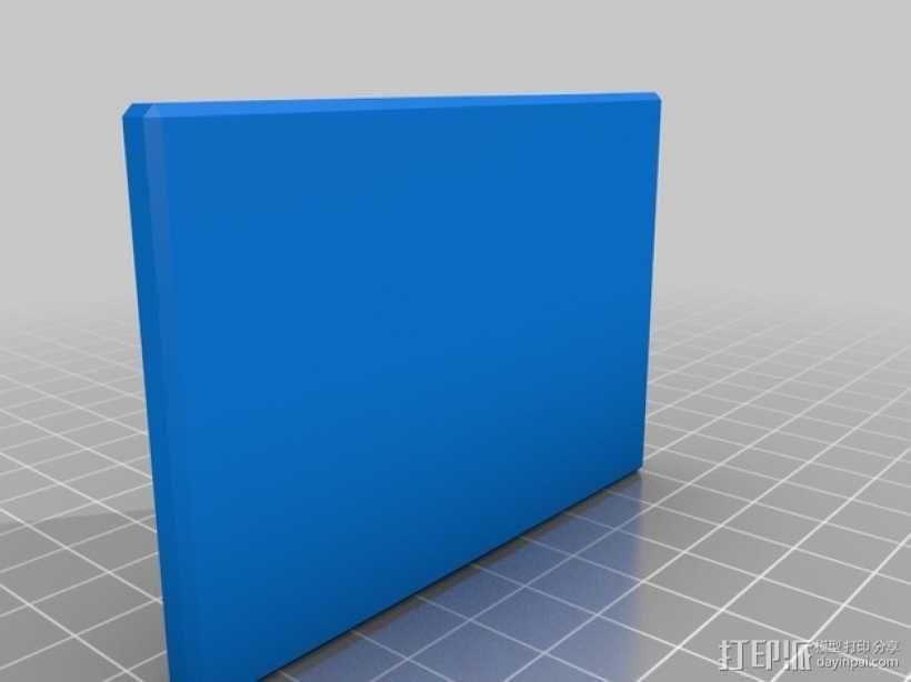 信用卡卡套 3D模型  图1