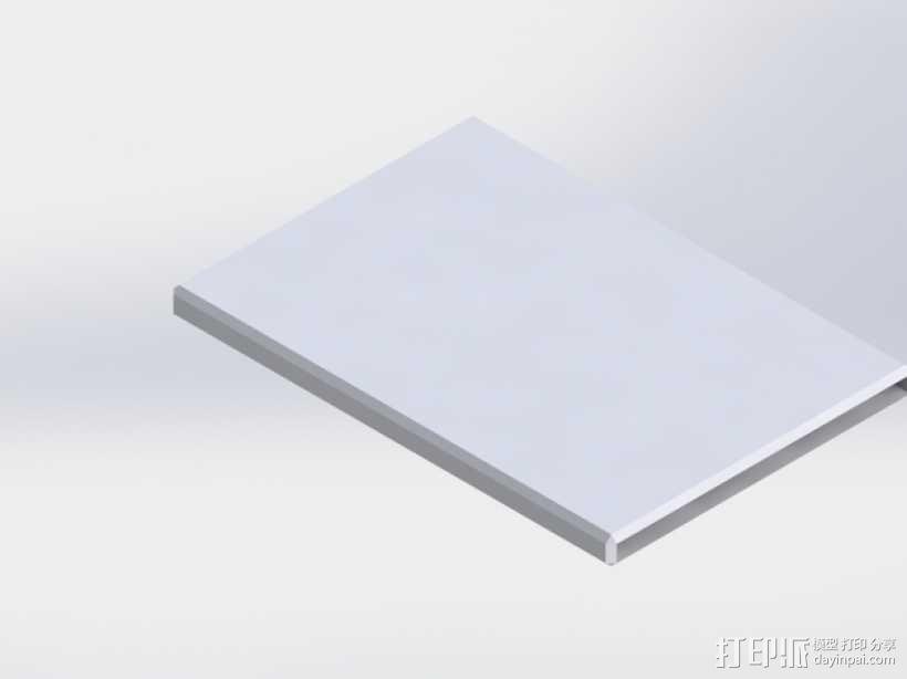 信用卡卡套 3D模型  图2
