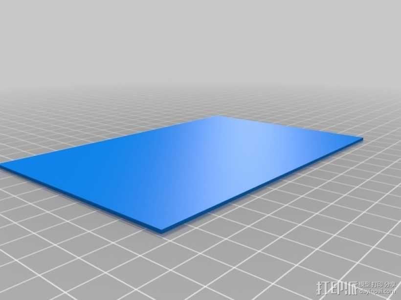 3D打印迷你飞机场模型 3D模型  图3