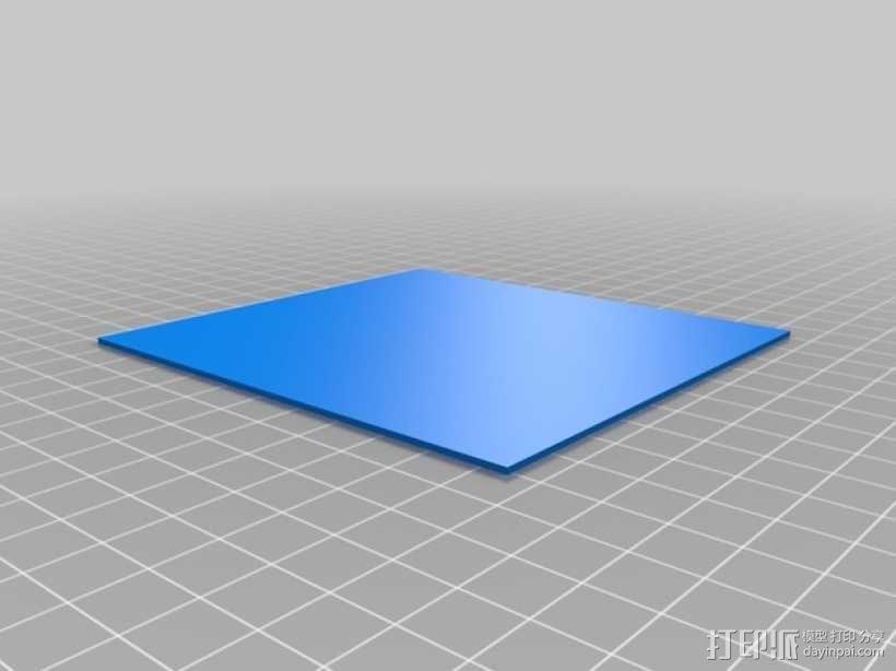 3D打印迷你飞机场模型 3D模型  图5