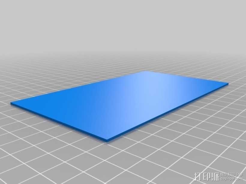 3D打印迷你飞机场模型 3D模型  图4