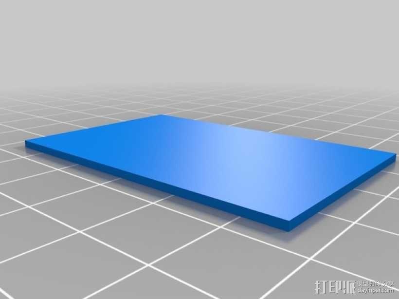 3D打印迷你飞机场模型 3D模型  图7