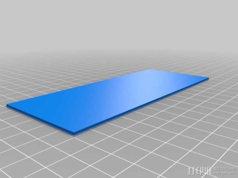 3D打印迷你飞机场模型 3D模型  图9