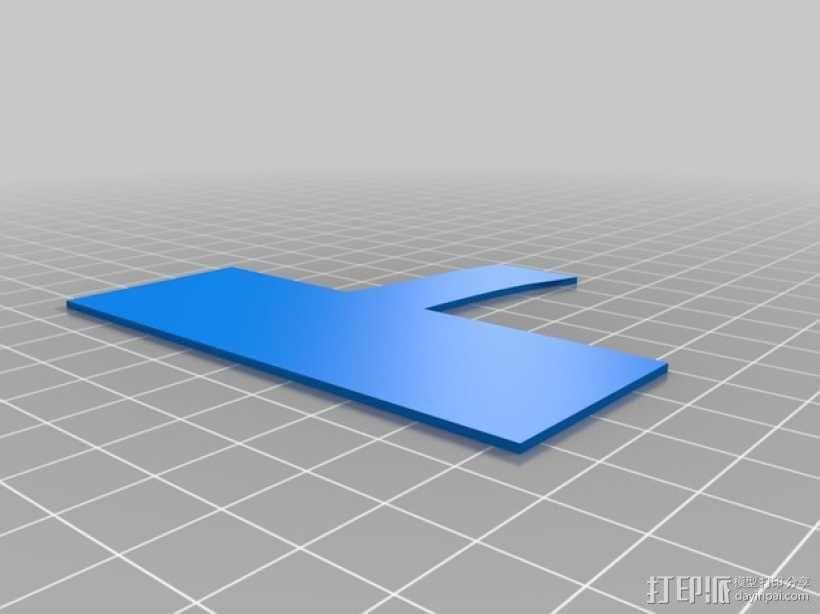 3D打印迷你飞机场模型 3D模型  图14