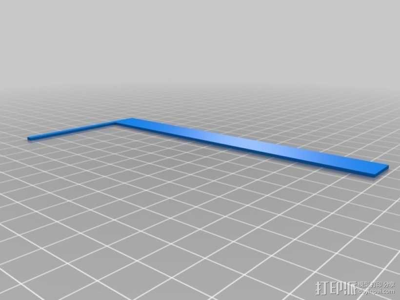 3D打印迷你飞机场模型 3D模型  图15