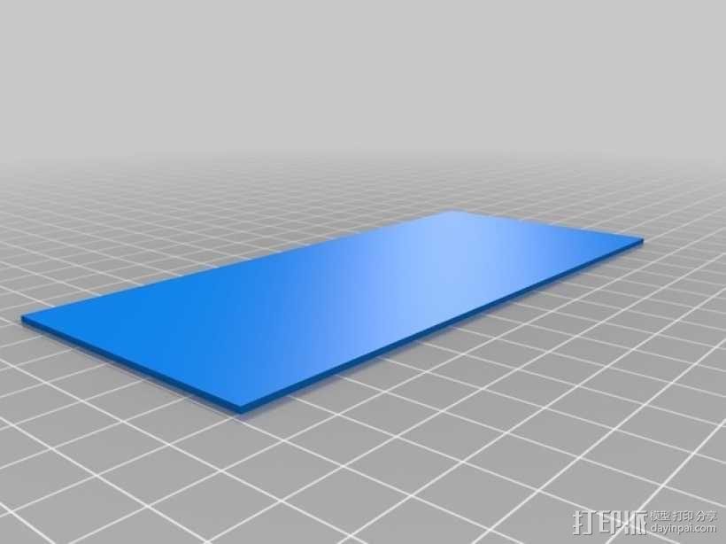 3D打印迷你飞机场模型 3D模型  图17