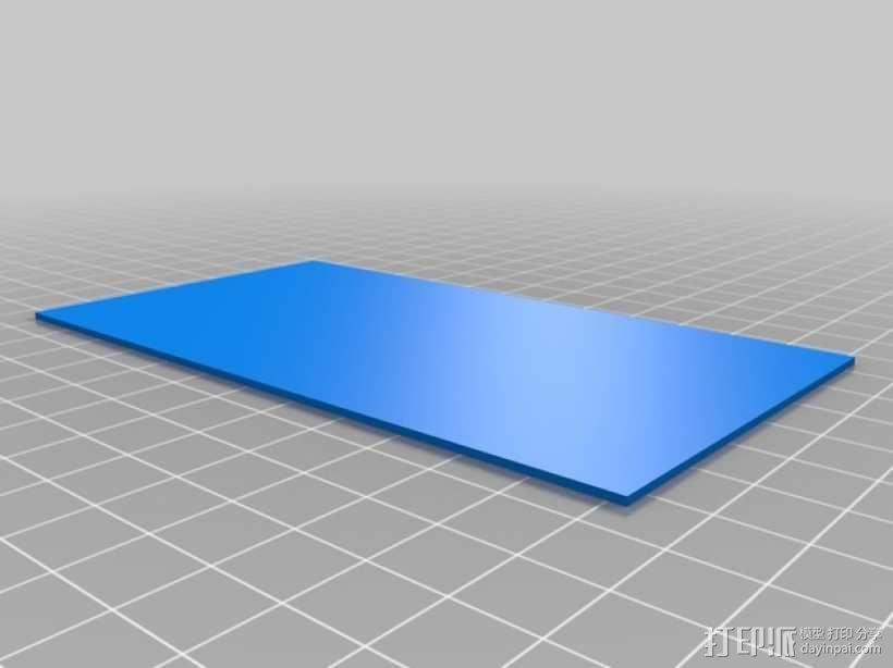 3D打印迷你飞机场模型 3D模型  图19