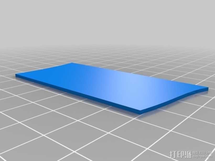 3D打印迷你飞机场模型 3D模型  图21