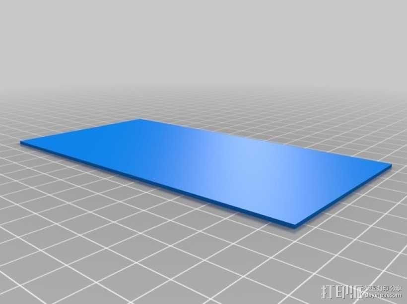 3D打印迷你飞机场模型 3D模型  图22