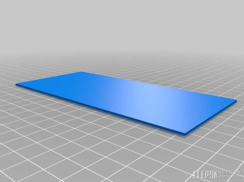3D打印迷你飞机场模型 3D模型  图24