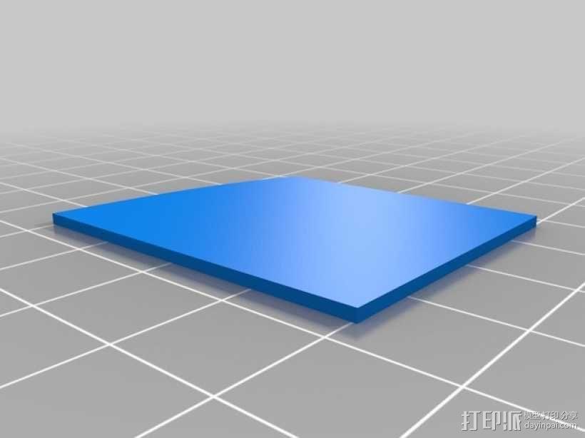 3D打印迷你飞机场模型 3D模型  图27