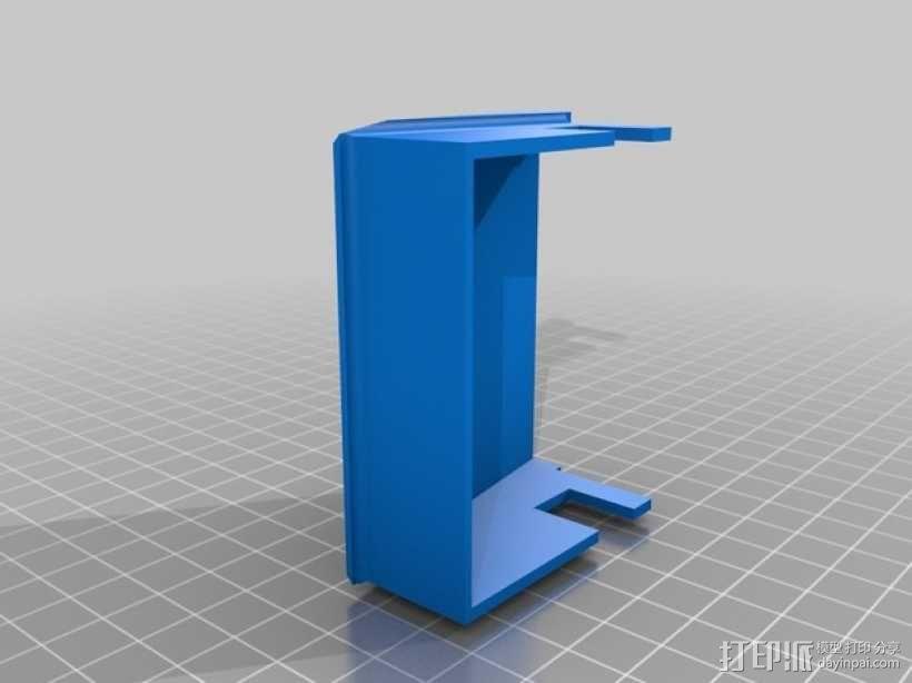 3D打印迷你飞机场模型 3D模型  图28