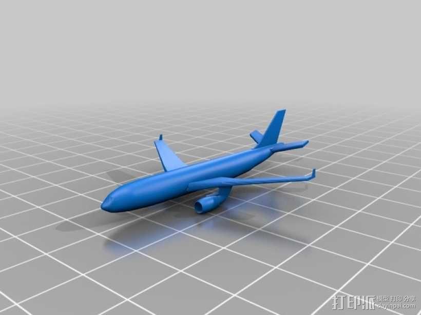 3D打印迷你飞机场模型 3D模型  图30