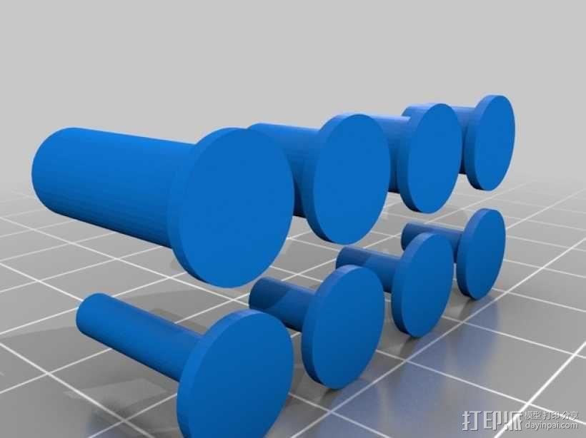 迷你挖掘机模型 3D模型  图2