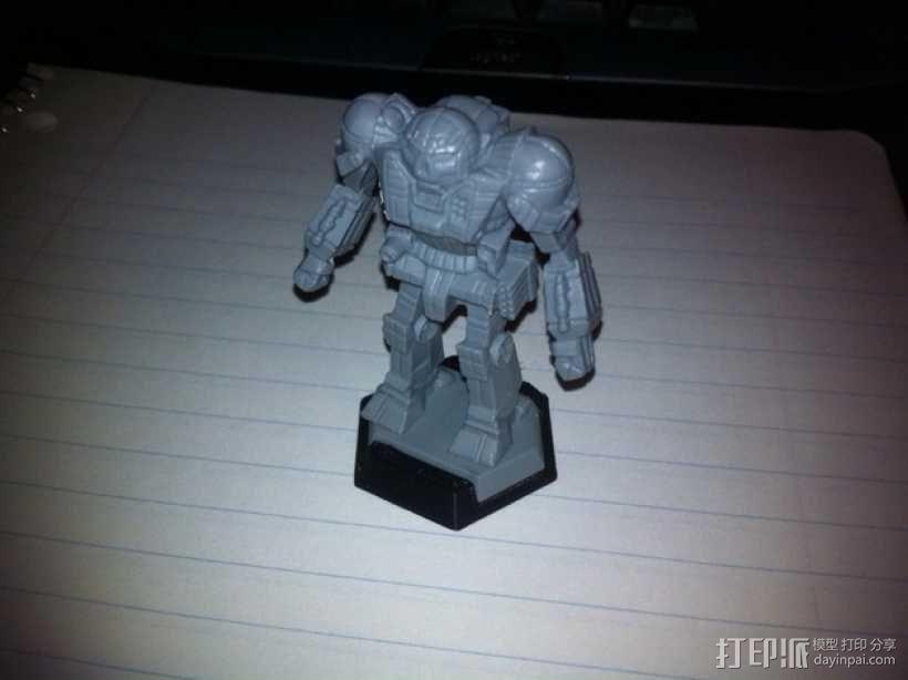机甲战士迷你转换器模型 3D模型  图1