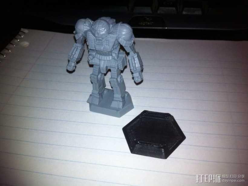 机甲战士迷你转换器模型 3D模型  图2