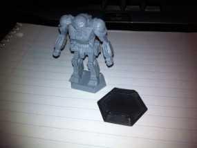 机甲战士迷你转换器模型 3D模型