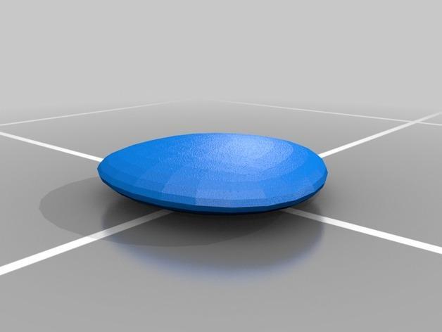 迷你弹跳板模型 3D模型  图1